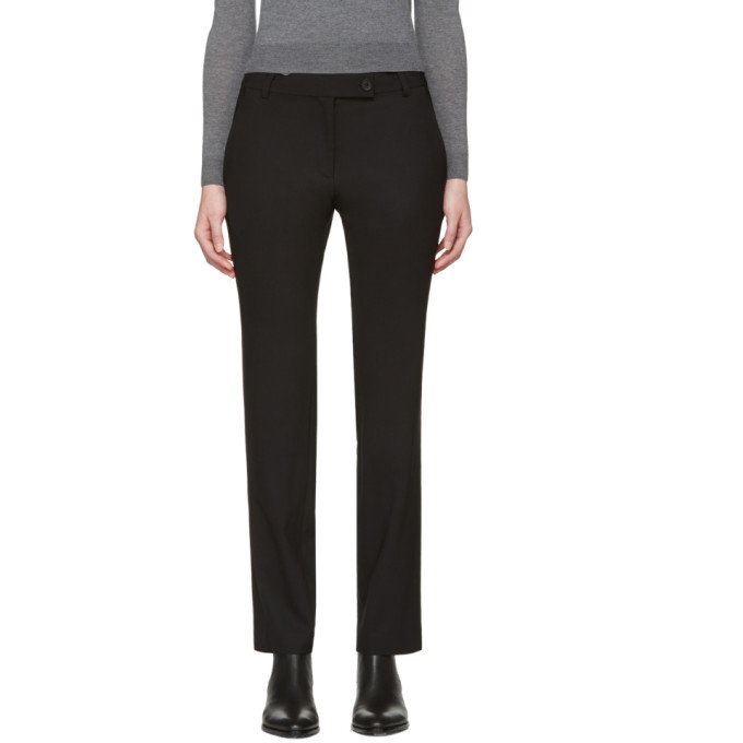 Image of 6397 Black Stovepipe Trousers