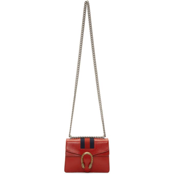 Gucci Red Mini Dionysus Bag