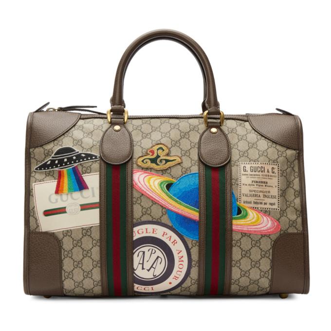 Gucci ブラウン GG スプリーム クーリエ トート