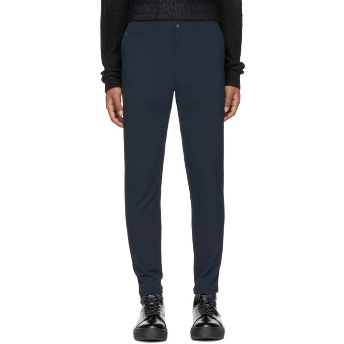 Image of Nanamica Navy Alphadry Trousers
