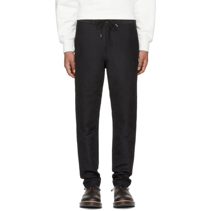 Image of Nanamica Black Moleskin Trousers