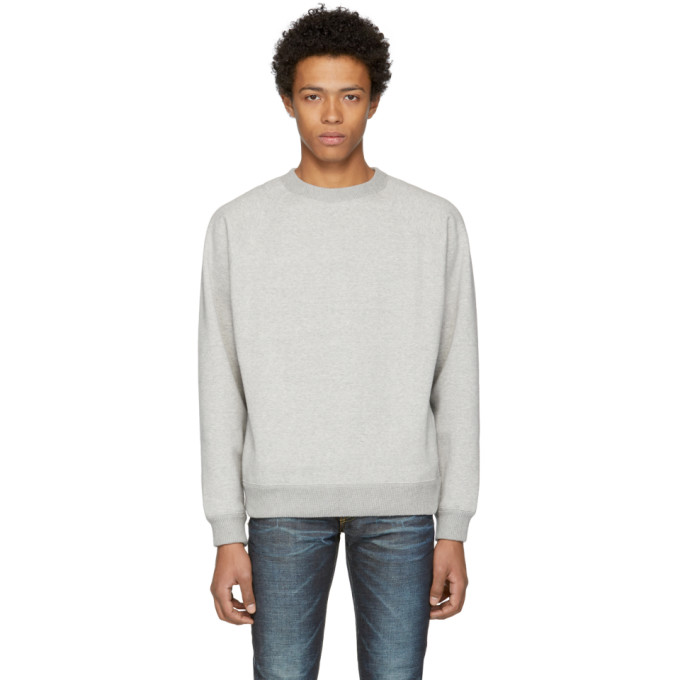 Image of Nanamica Grey Crewneck Sweatshirt