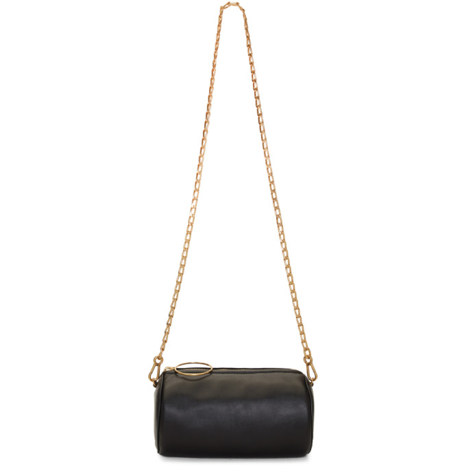 Stella McCartney Black Mini Bubble Bag