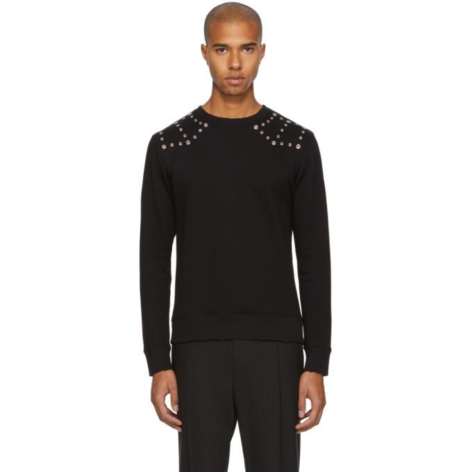 Image of Valentino Black Punk Sweatshirt