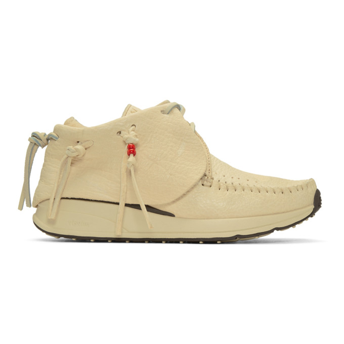 Visvim Off-White FBT Moccasin Sneakers