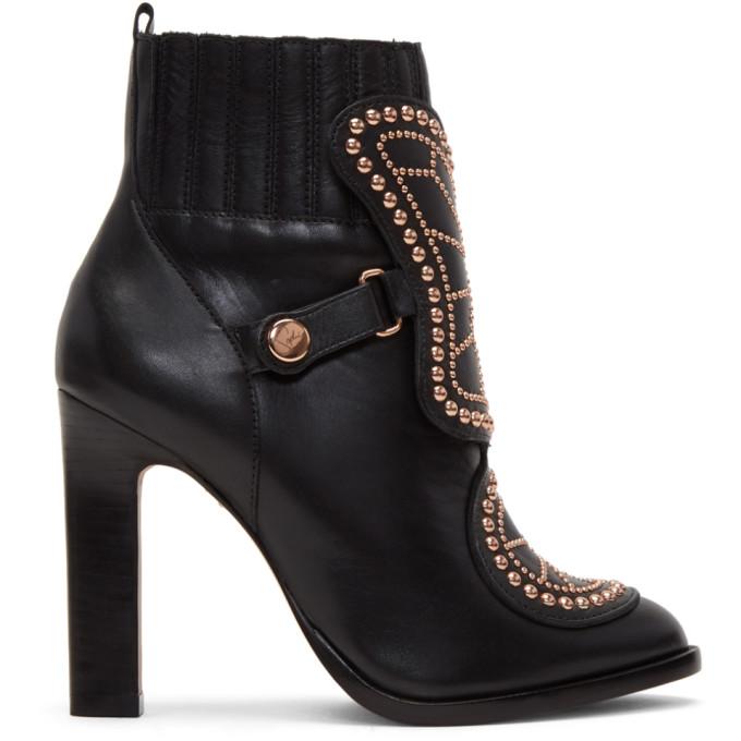 Image of Sophia Webster Black Karina Boots