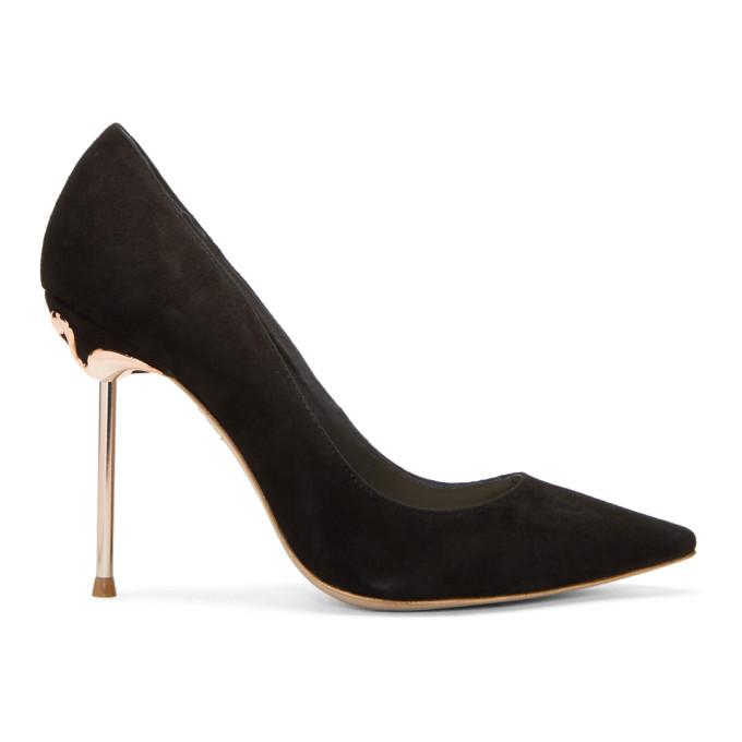 Image of Sophia Webster Black Coco Flamingo Heels