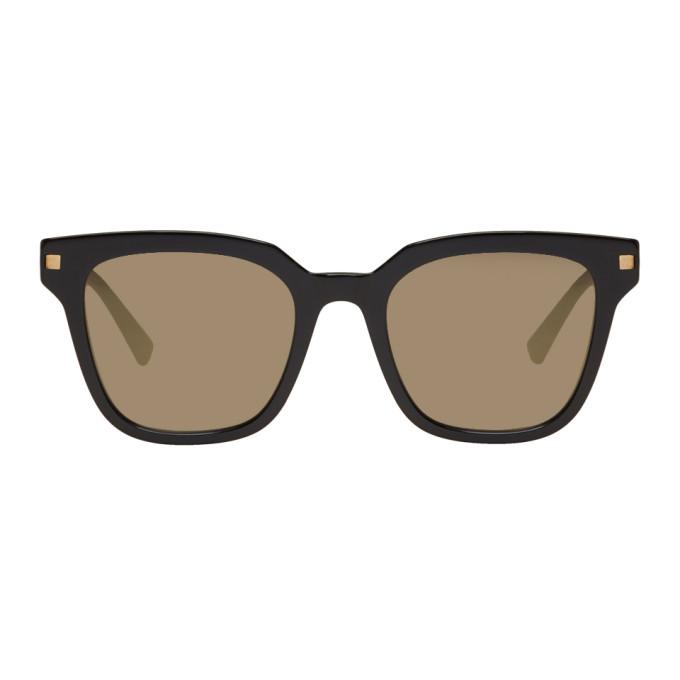 Image of Mykita Black Yuka Sunglasses