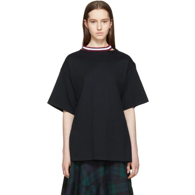 Image of Facetasm Black Tie Back T-Shirt