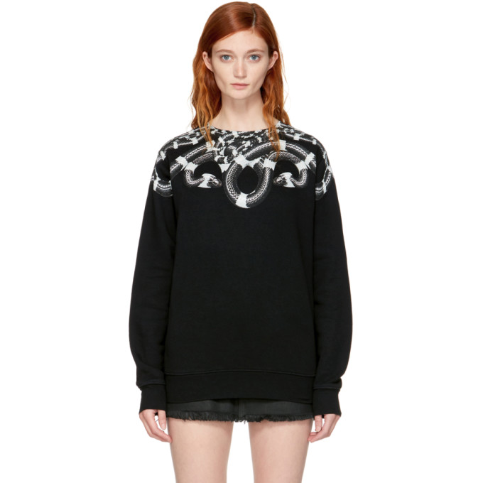 Marcelo Burlon County of Milan SSENSE Exclusive Black Kion Sweatshirt