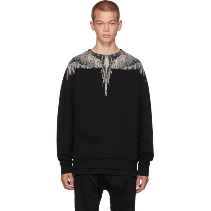 Marcelo Burlon County of Milan Black Jen Sweatshirt