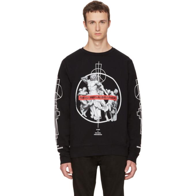 Marcelo Burlon County of Milan Black Fainu Sweatshirt