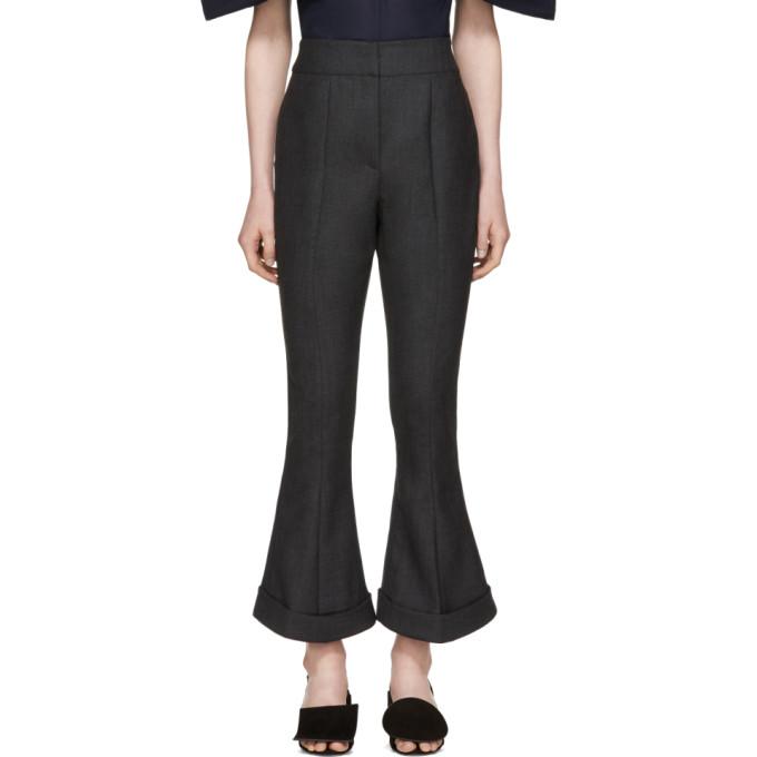 Jacquemus Grey 'Le Pantalon Nino' Trousers