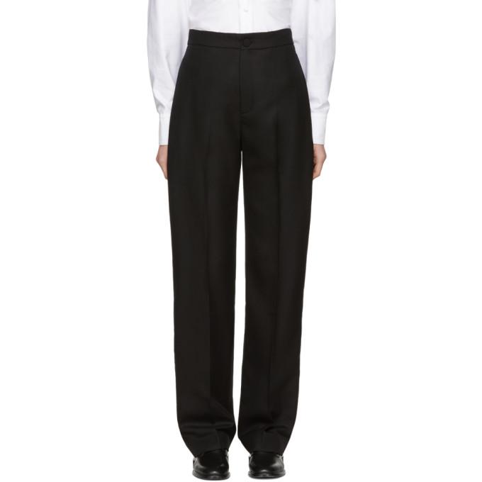 Jacquemus Black Le Pantalon Taille Haute Trousers