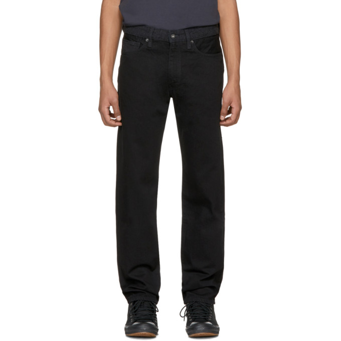 Levis Made & Crafted Black Rail Straight Jeans