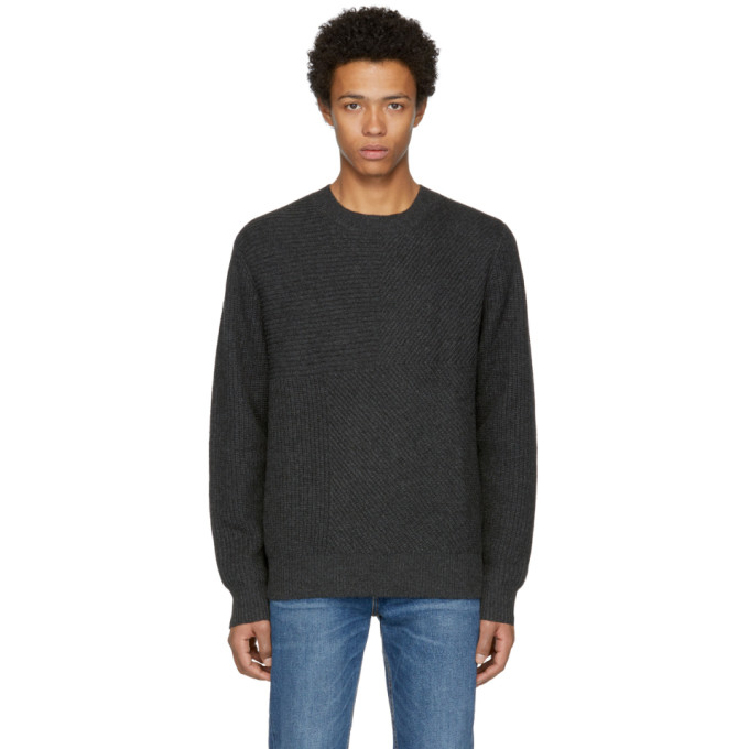 Levis Made & Crafted Black Pieced Sweater