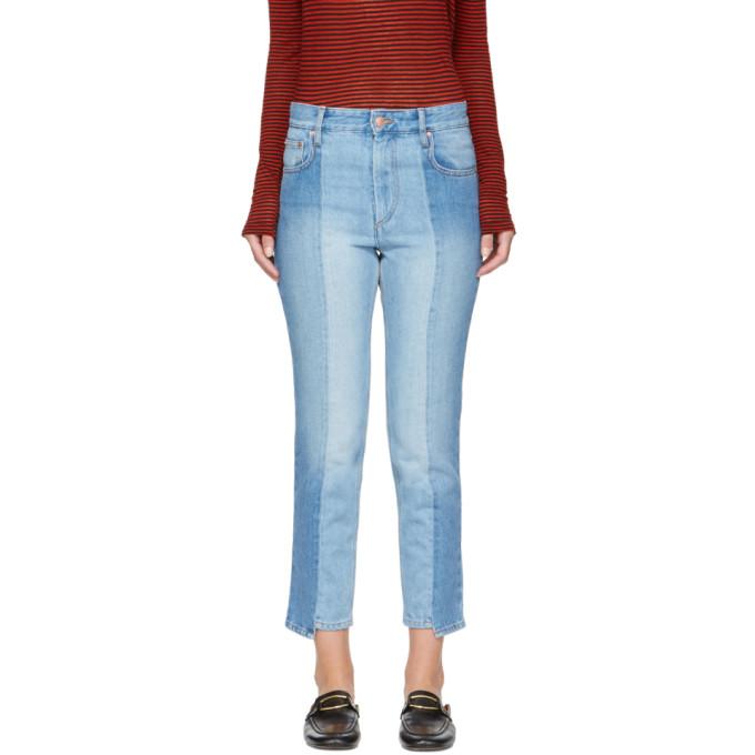Isabel Marant Etoile Blue Slim Clancy Jeans