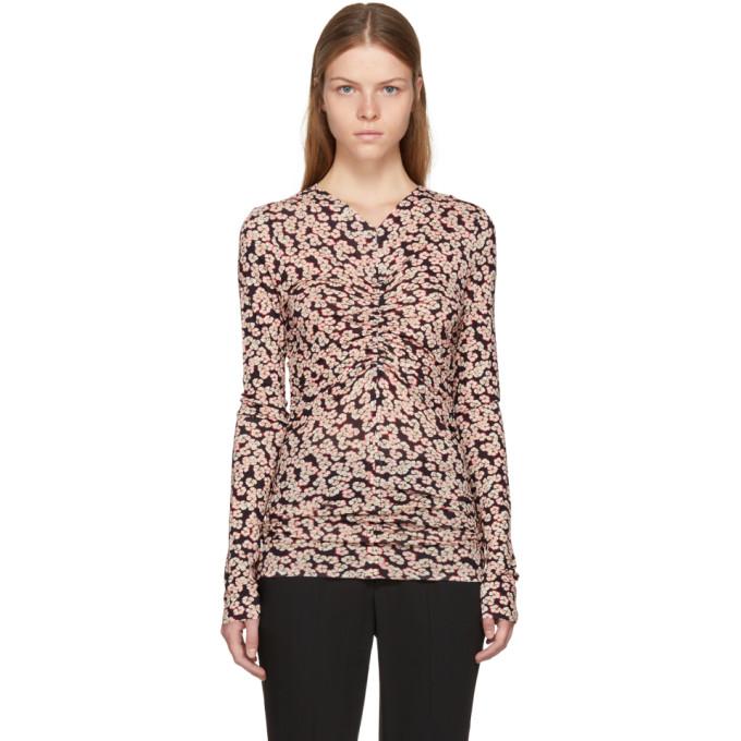 Isabel Marant Purple Miston Floral T-Shirt