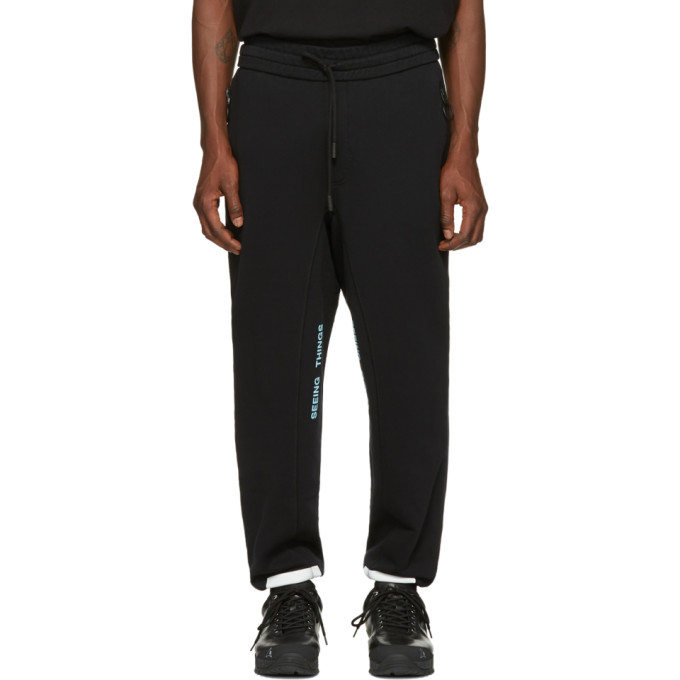 OFF-WHITE BLACK DIAGONAL ARROWS LOUNGE PANTS