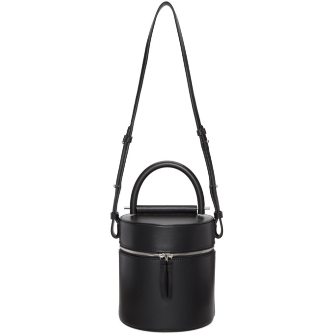 Image of Building Block Black Drum Bucket Bag