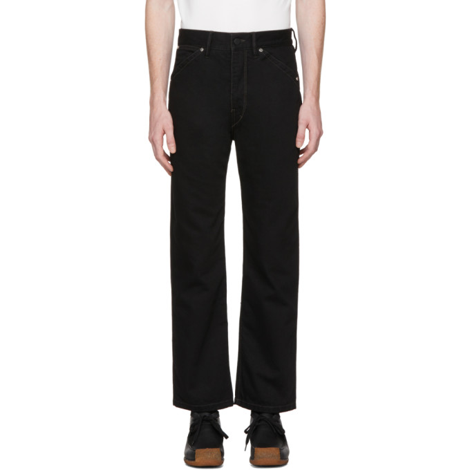 Image of Lemaire Black Slim Jeans