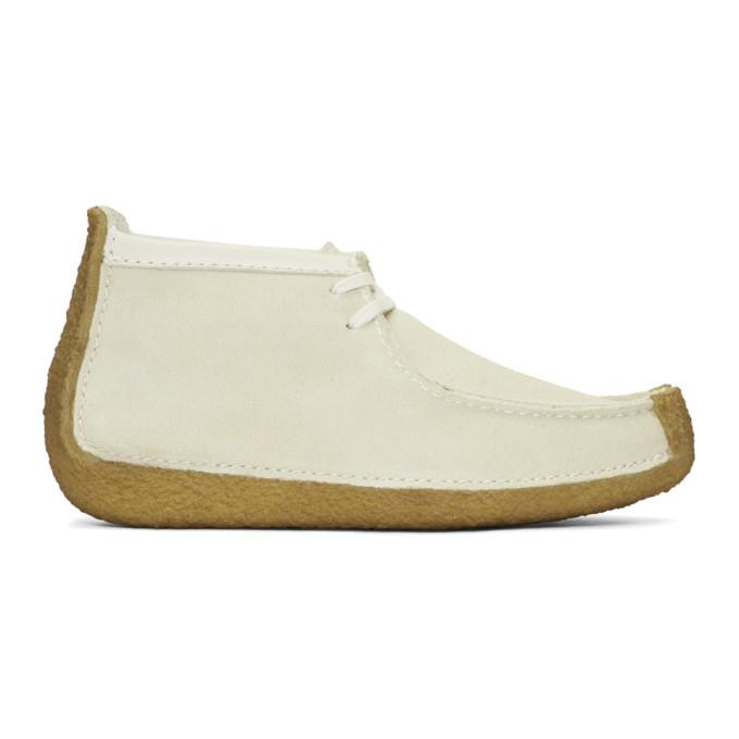 Lemaire Beige Suede Clarks Originals Edition Redland Desert Boots