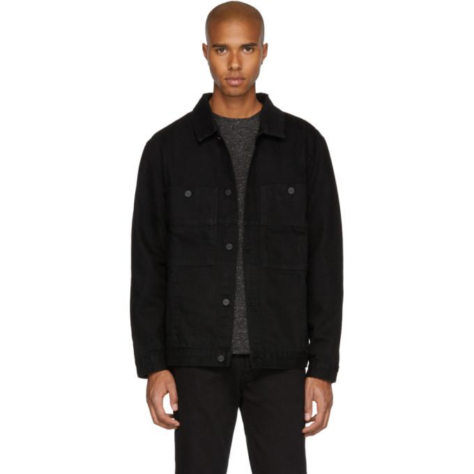 Études Black Denim Guest Jacket