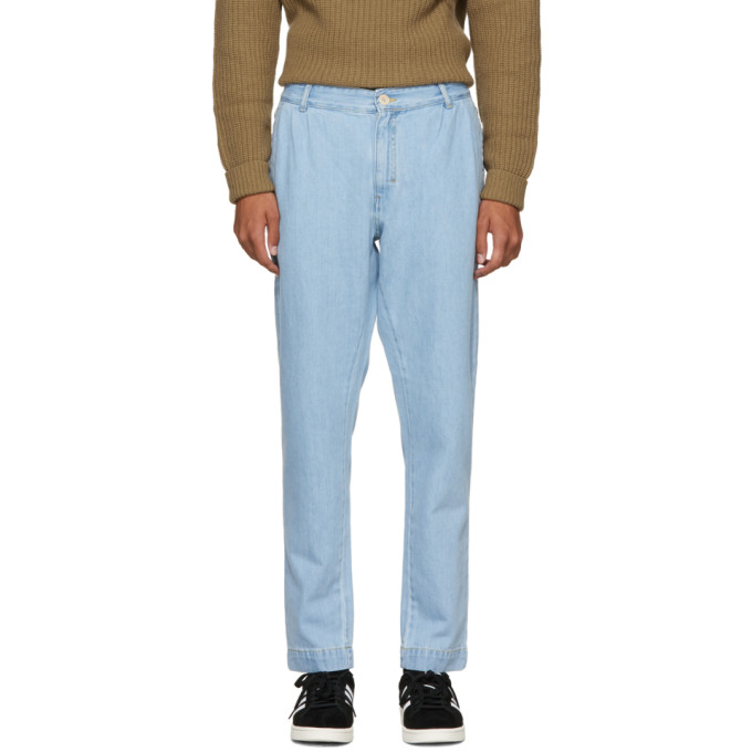 Études Blue Denim Archives Trousers