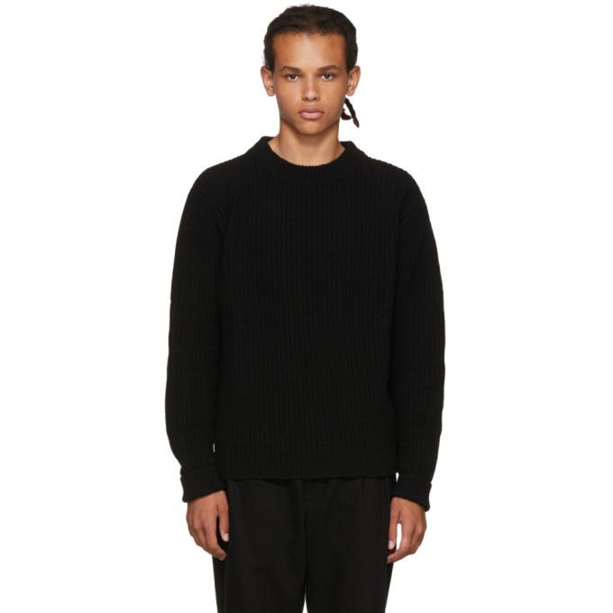 Études Black Echo Crewneck Sweater