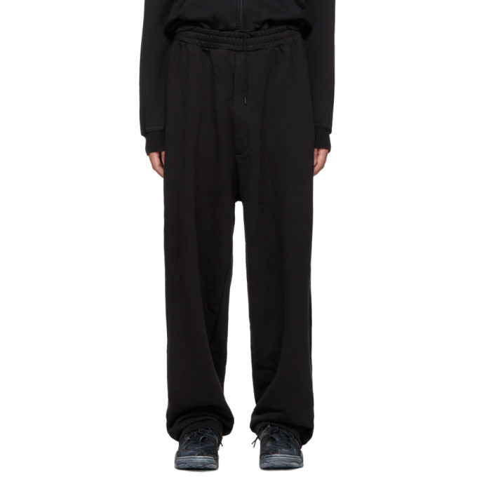 Vetements Black Bro Large Heavy Jogging Pants