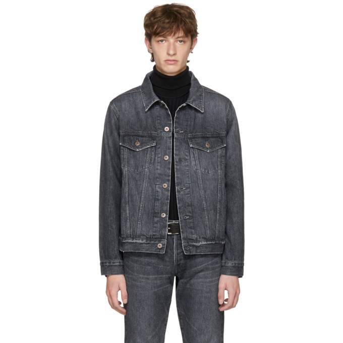 Image of Simon Miller Black Denim M601 Winslow Jacket