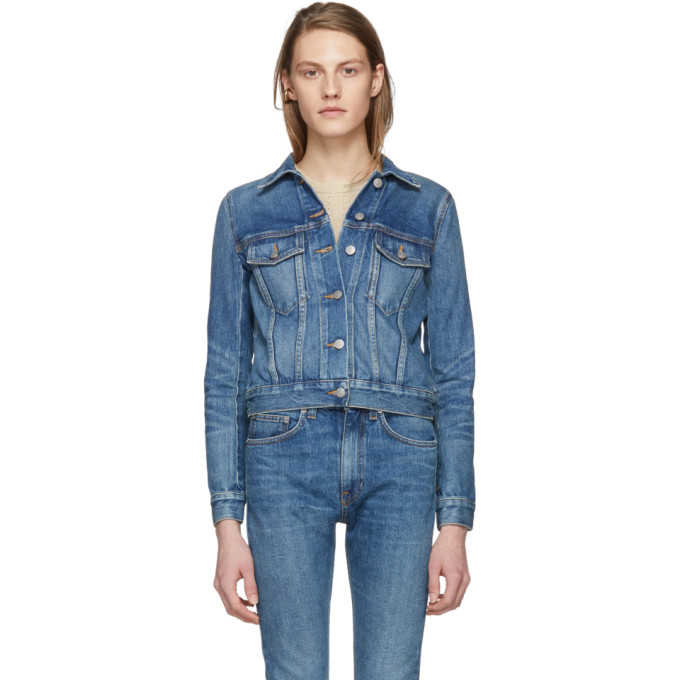 Image of Brock Collection Blue Denim Jessie Jacket