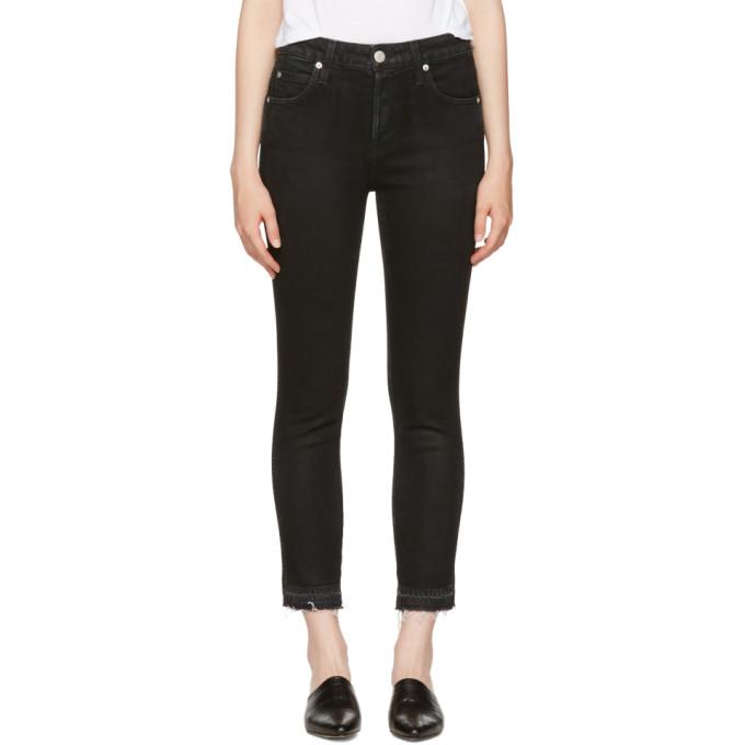 amo female amo black babe jeans