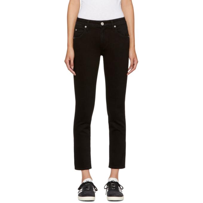 Amo Black Kate Jeans in 116 Black Magic