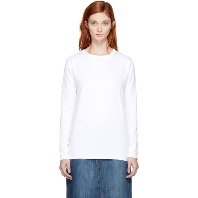 Image of Earnest Sewn White Rachel T-Shirt