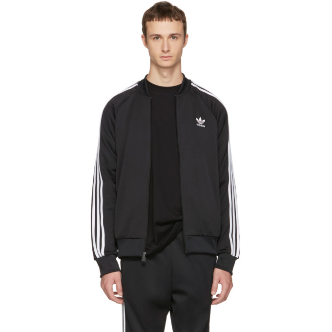 adidas Originals Black Superstar Track Jacket