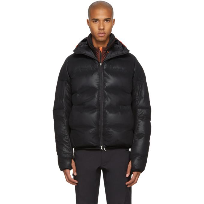 Image of Adidas x Kolor Black Down Jacket