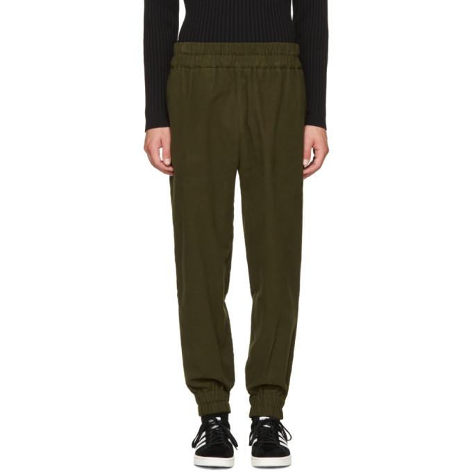 Image of Phoebe English Green Jogger Lounge Pants