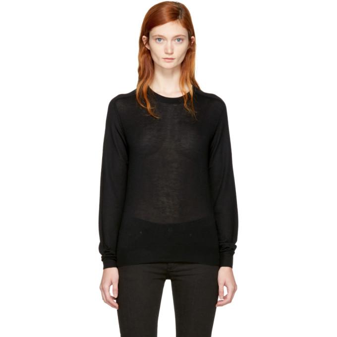 Image of Totême Black Cashmere Verona Sweater