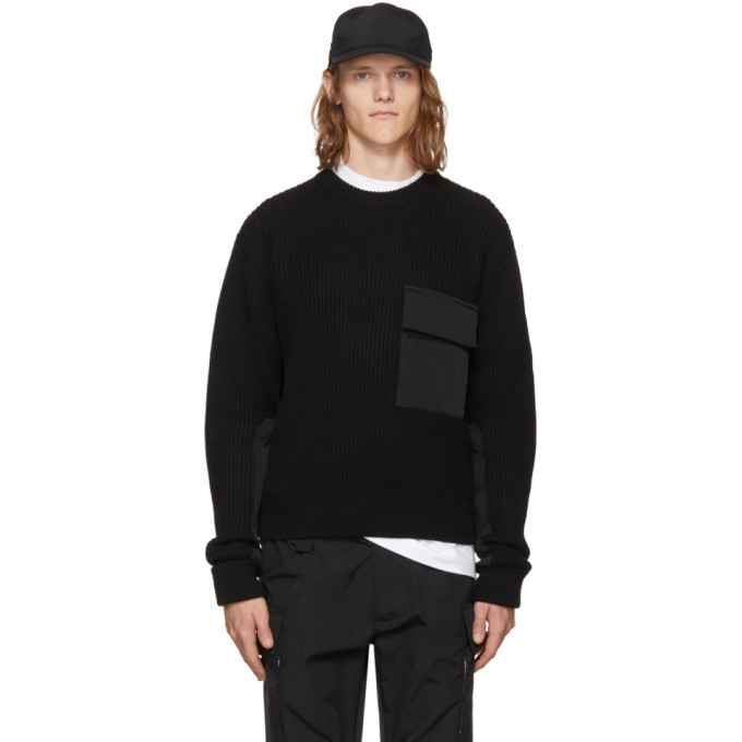 Alyx Black Army Crewneck Sweater