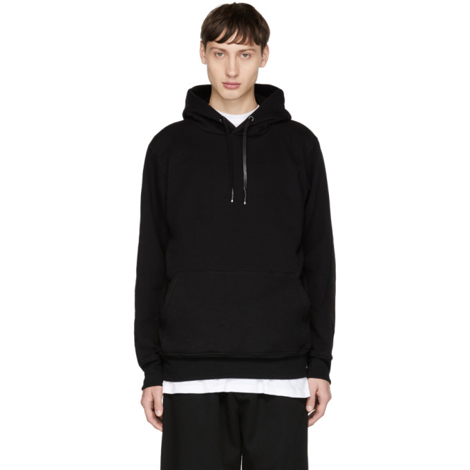 Alyx Black Elbow Patch Hoodie
