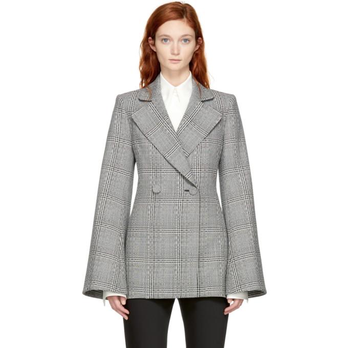 Image of Ellery Black & White Boycott Blazer