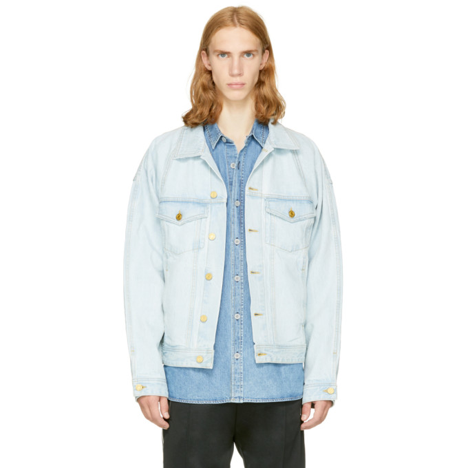 Fear of God Indigo Selvedge Denim Trucker Jacket