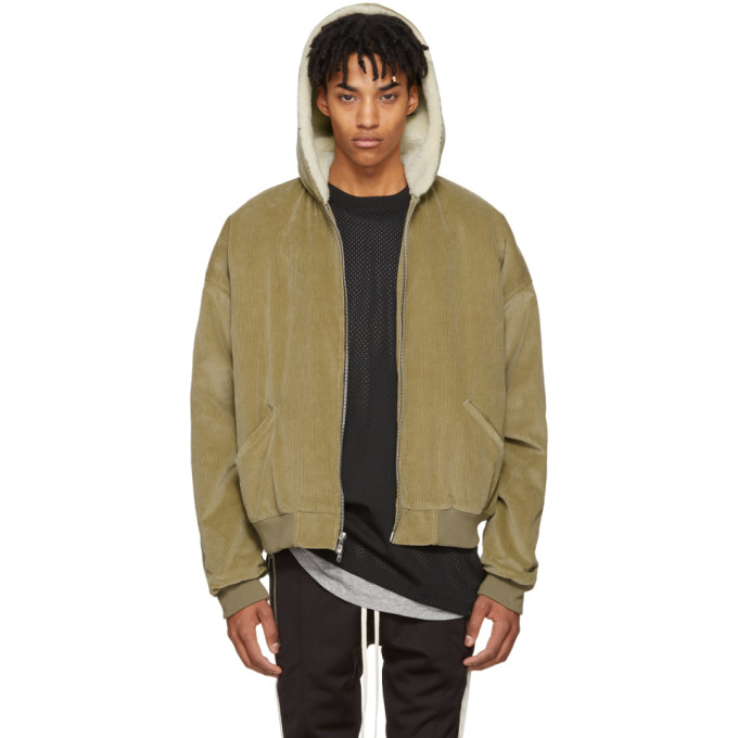 Fear of God Tan Corduroy & Alpaca Jacket