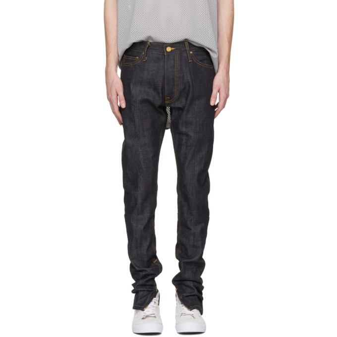 Fear of God Indigo Selvedge Zip Jeans