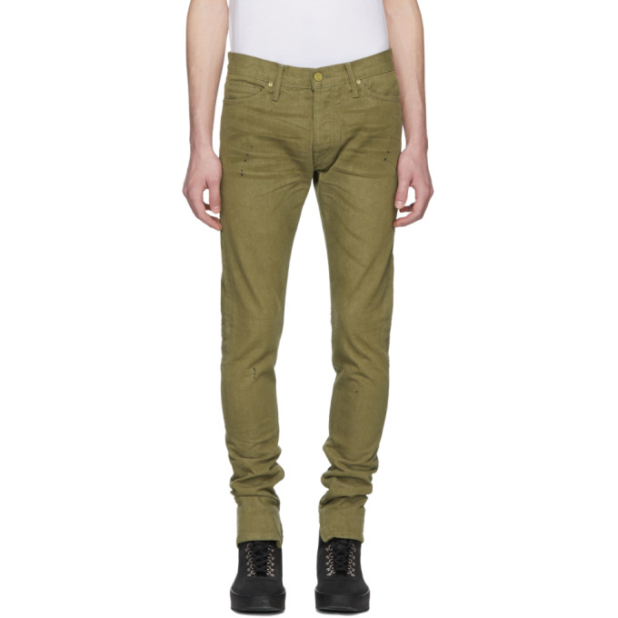 Fear of God Khaki Selvedge Denim Vintage Jeans