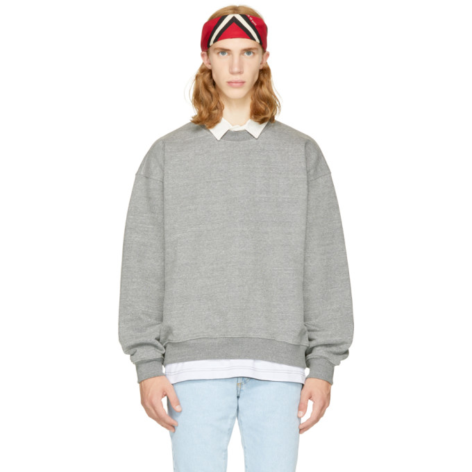Fear of God Grey Heavy Sweatshirt