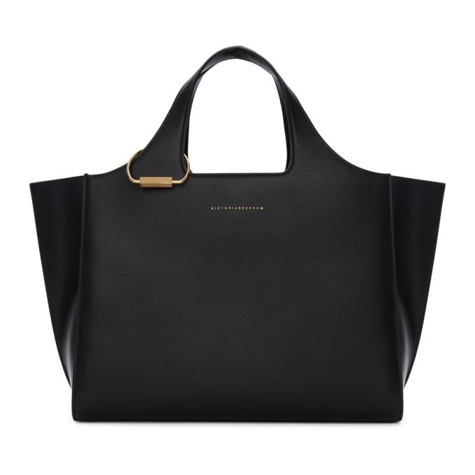 Victoria Beckham Black Newspaper Bag