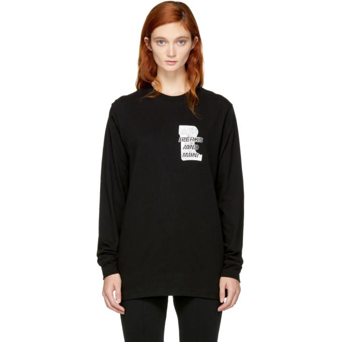 Image of Perks and Mini Black Long Sleeve 'Home Maid' T-Shirt