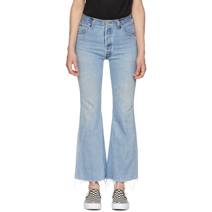 Re/Done Blue 'The Leandra' Jeans